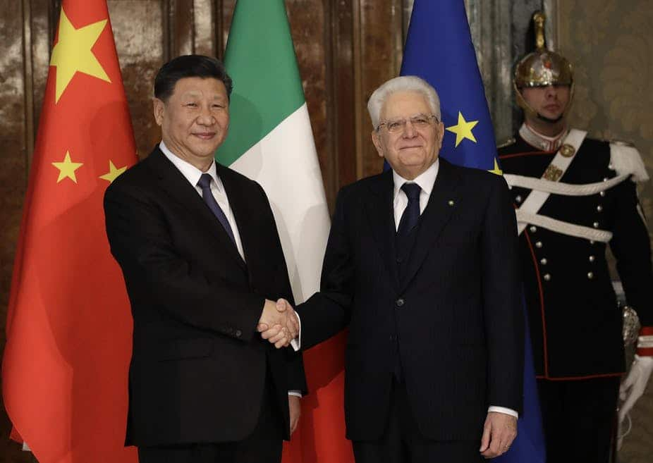 Italy is projected to be the first G7 nation to officially endorse China's Belt and Road Initiative (BRI). And that's raising the ire of both the European Union and the United States.