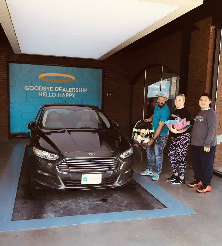 Carvana, known as the Amazon of used cars,  offers in excess of 15,000 cars but what makes them different is that customers can complete their purchase in less than 10 min and they can pick up their car from vending machines located all around the country.